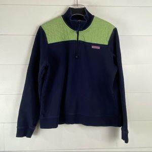 Martha's Vineyard Vines Vintage quilted 1/4 zip pullover jacket